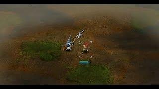 Battle Realms WOTW - Wolf Berserker vs Dragon Samurai - GANG WARS
