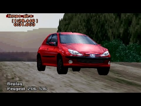 PLAYSTATION 1 - Gran Turismo 2: Peugeot 206 #2 - YouTube