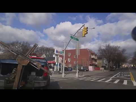 Driving from Middle Village to Long Island City Queens,New York