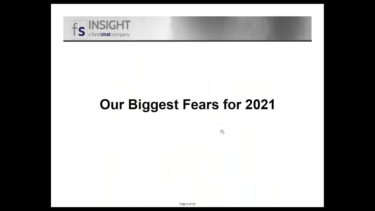 Webinar - FSInsight - 2021 Portfolio Strategy with Brian Rauscher