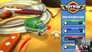 Live Gameplay -Toybox Turbos