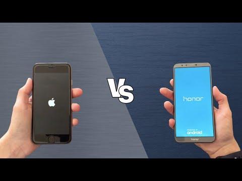 iPhone 6s vs Honor 9 Lite