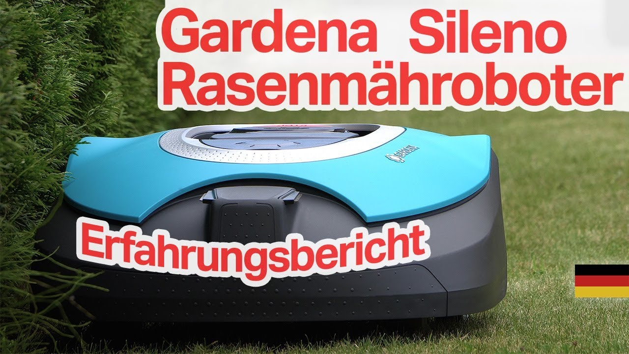 gardena 19060 60 sileno m hroboter test installation und erfahrungsbericht youtube. Black Bedroom Furniture Sets. Home Design Ideas