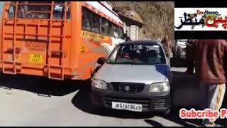 Pasmanzae news(Mandi Police challan traffic rules voilators.
