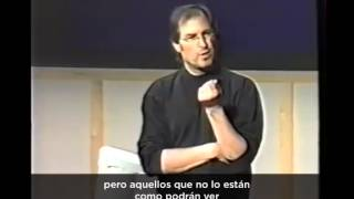 Steve Jobs presents the Think Different Campaign (subtítulos en español)