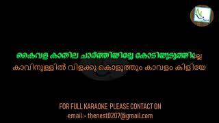 Paraniraye Ponnalakkum Pournami SONG  WITH LYRICS BY THENEST