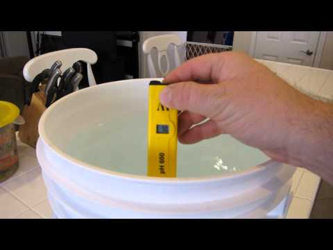 Water Preparation - pH stable and chlorine removal before use in my hydroponic system