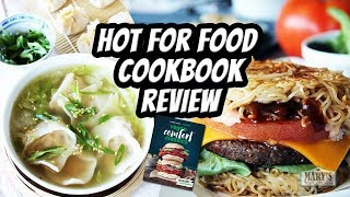 HOT FOR FOOD COOKBOOK REVIEW // Vegan Comfort Classics by Lauren Toyota | Mary