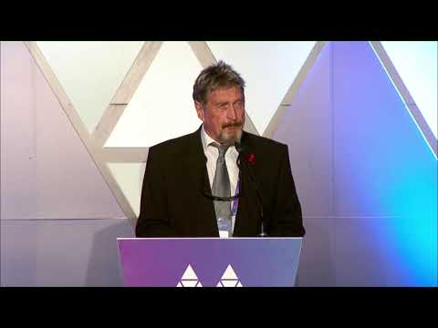 Malta Blockchain Awards: John McAfee Keynote