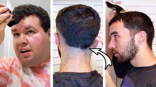 Barber Gives Virtual Haircuts
