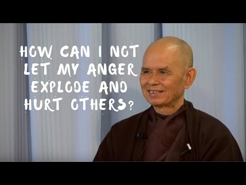 How Can I Not Let My Anger Explode? | Q & A With Thich Nhat Hanh