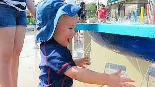 TODDLER LOVES WATERPARK!