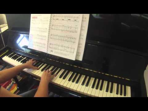 The Star Spangled  Banner by John Stafford Smith Alfred's Basic Adult Piano Course all-in-one level