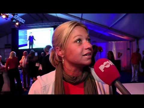 VVD-feestje bij uitslagen verkiezingen