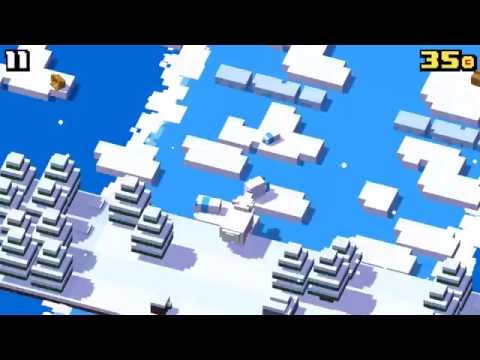 Crossy Road - Arctic&Dinosaur update
