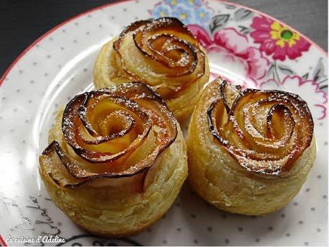 Rose feuillet e aux pommes recette facile et rapide pour for Dessert facile et rapide