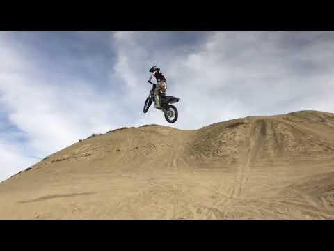 OCOTILLO WELLS 2017 JUMPS AND BAD CRASH!