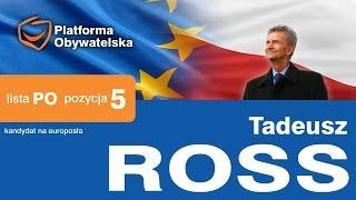 Tadeusz Ross - spot wyborczy: Kwalifikacje zawodowe