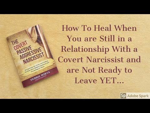 How to Heal When You are Still in a Relationship with a Covert