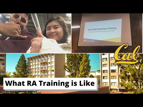 Resident Assistant Training Day in My Life (What UC Berkeley RA Training is Like)