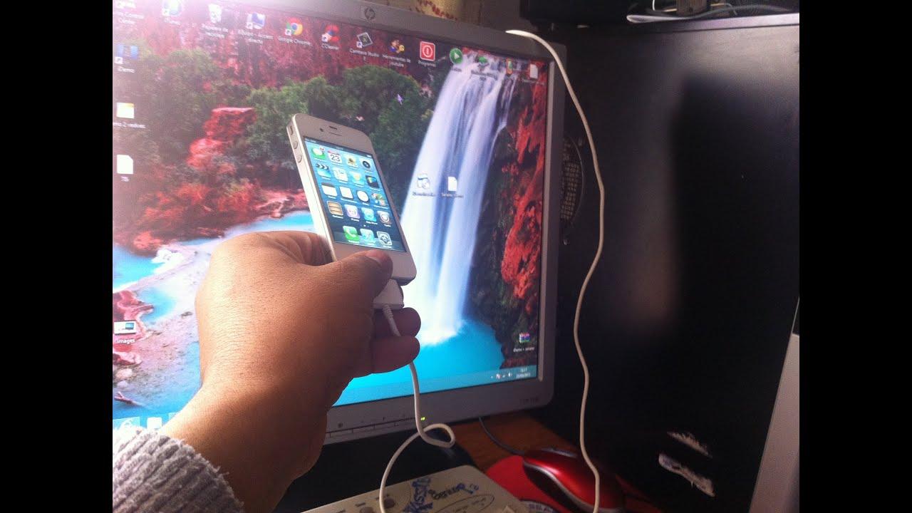 برنامج لعرض الايفون على شاشة الكمبيوترعن طريق Usb الكابل Youtube