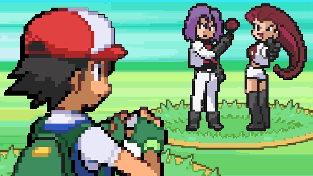 `If Ash Was in the Pokemon Games` PARODY