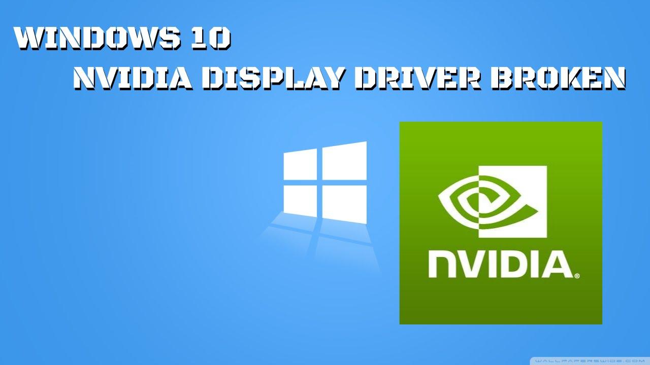 Hp Pavilion Dv6 Nvidia Vga Drivers Windows 10