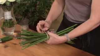 Triangle Nursery - Spiral flower arranging technique