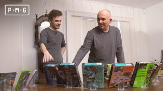 We showed Peter Molyneux every game he