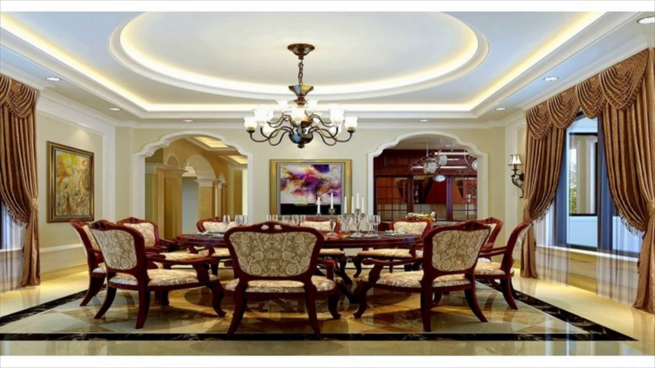 Ceiling Lights For Dining Room - YouTube