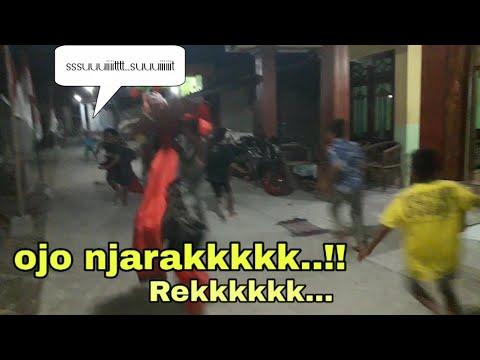 Hiburan Malam Dolanan Jaranan Arek Cilik2 BALONGSARI PLOSO JOMBANG