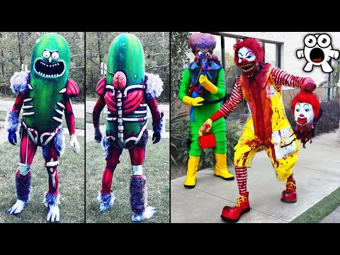 Creative Halloween Costumes People Took to The Next Level (Part 2)