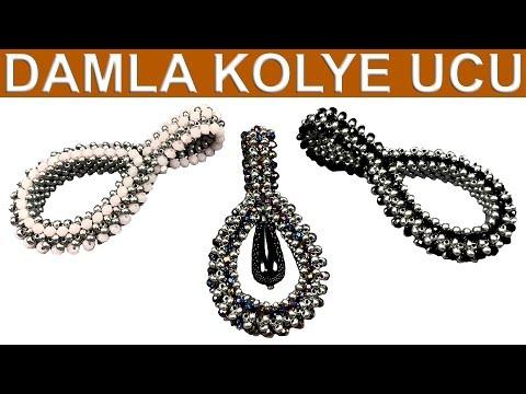 Damla Kolye Ucu (How To Make A Drop Pendant)