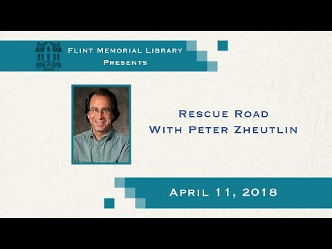Flint Memorial Library - Rescue Road With Peter Zheutlin (04/11/18)