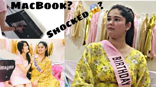BIRTHDAY SURPRISE GIFT FOR MY SISTER | My sister's reaction on MacBook😬