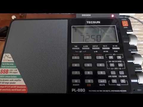 7250 kHz - VATICAN RADIO (Romanian Liturgy)