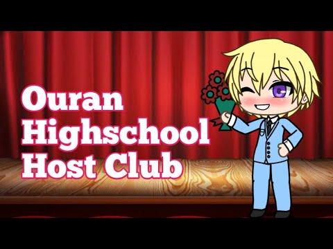 Making The Ouran Highschool Host Club Members In Gacha Life