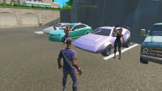 Fortnite Roleplay - CAR MEET! (Fortnite Short Film) #oneofakind