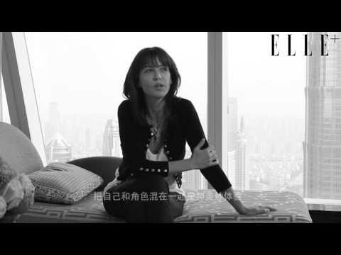 "ELLEplus Interview with Sophie Marceau ""Film & Me"""