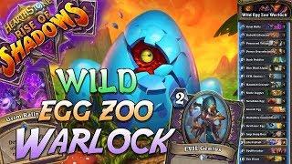 Wild Egg Zoo Warlock Deck   Rise of Shadows   Hearthstone