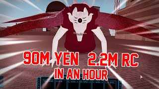 Gambar cover How to kill Eto Yoshimura BOSS in 10 SECONDS! (GLITCH) | Ro-Ghoul |  90M YEN + 2M RC IN AN HOUR!