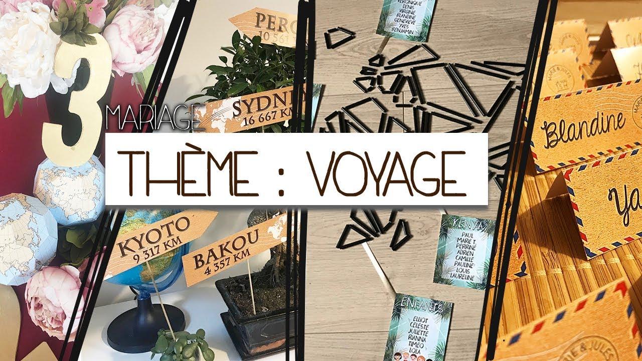 Petit Centre De Table A Faire Soi Meme [ inspiration # 5 ] : mariage thème voyage ! ♡