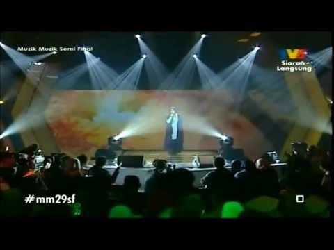 141114 Shila Amzah - Masih Aku Cinta (Muzik Muzik 29 semi final)