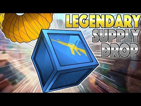 Legendary Supply Drop! (Fortnite Battle Royale)
