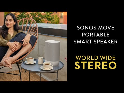 Review: Sonos Move (Portable Smart Speaker for Indoor / Outdoor)