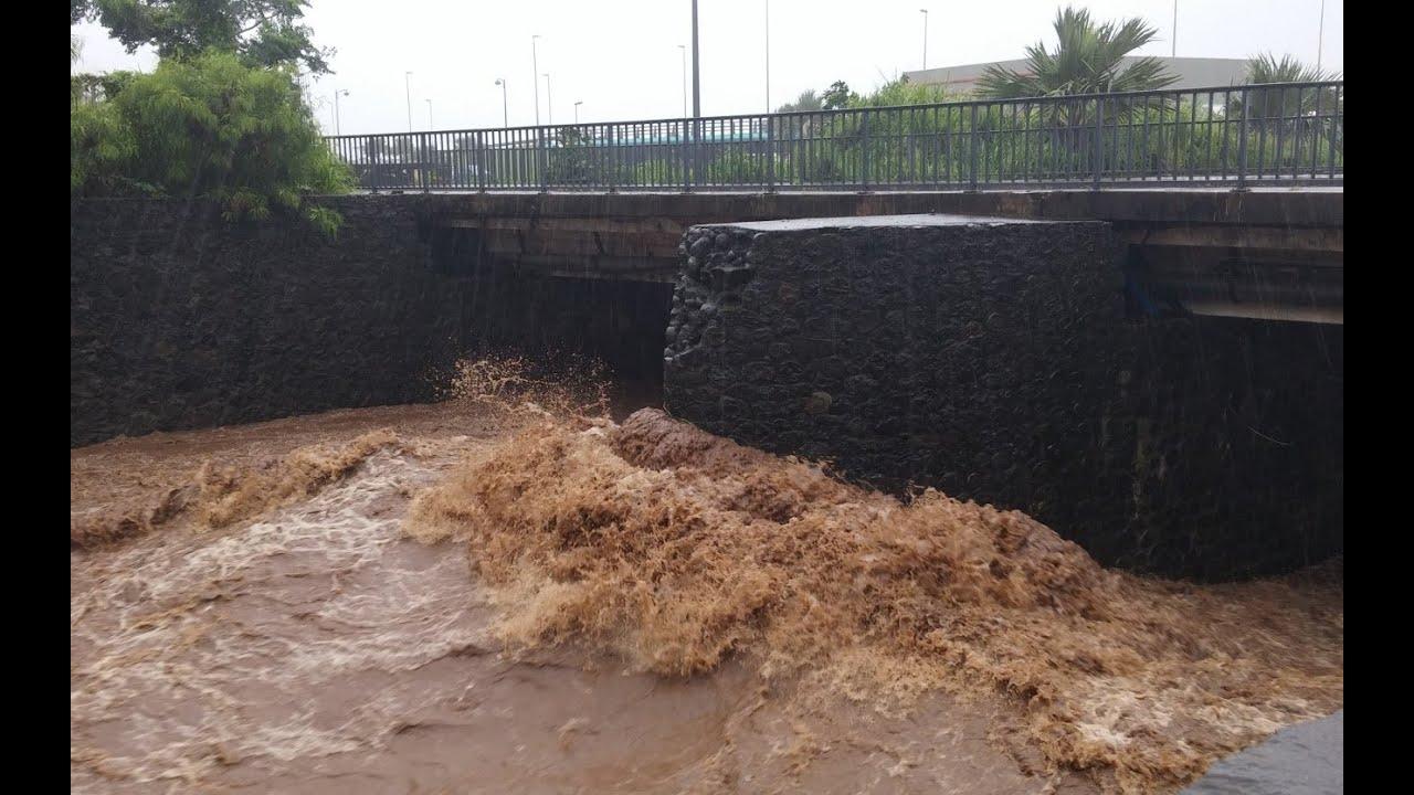 Tempête HALIBA à la Réunion (2015)