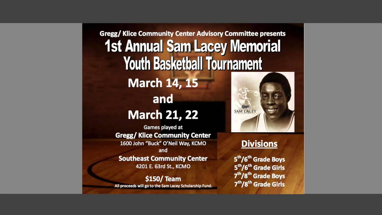 KC Parks Sam Lacey Memorial Basketball Tournament