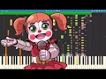 IMPOSSIBLE REMIX - Five Nights At Freddys Sister Location Song - I Can't Fix You - Piano Cover