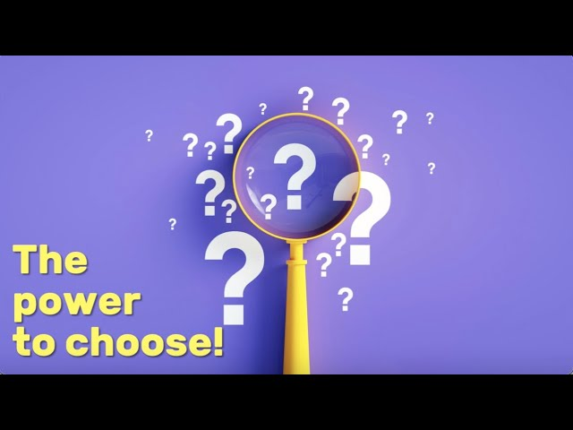 Social Emotional Learning (SEL) Video Lesson of the Week (week 50) - The Power to Choose