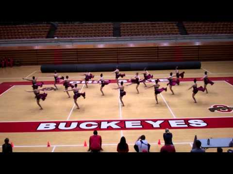 2014 Ohio State Dance Team Friends & Family Performance - Jazz
